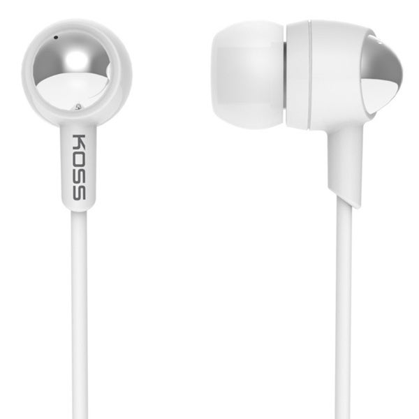 Koss IL100 White Ear Bud Headphones