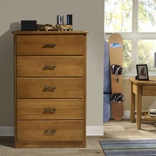 Timber Creek 5-drawer Log Chest