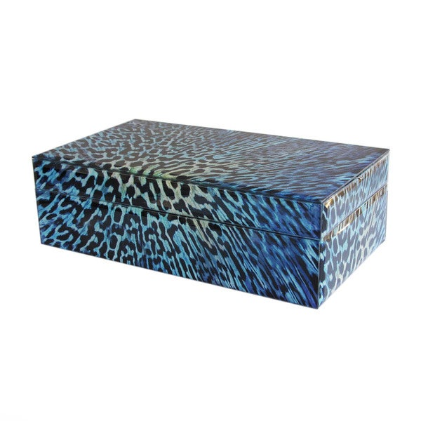 Leopard Print Jewelry Box