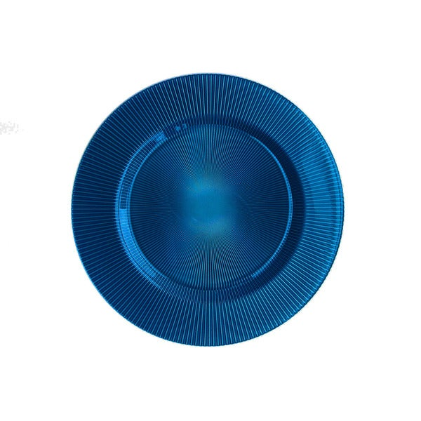 ChargeIt by Jay Sunray Navy Blue Charger Plate
