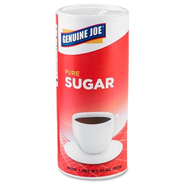 Genuine Joe Pure Cane Sugar Canister (Pack of 24)