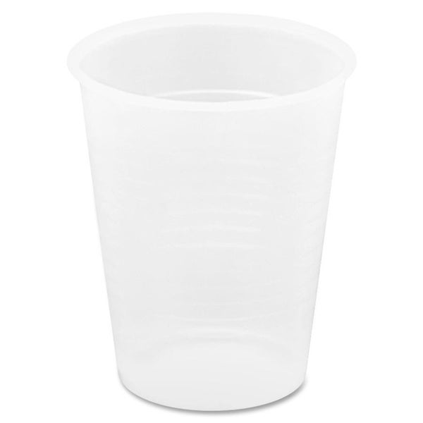 Genuine Joe 9 oz. Translucent Plastic Beverage Cup (Pack of 2400) 15127907
