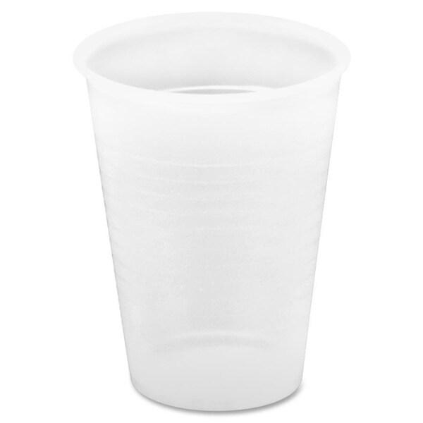 Genuine Joe 12 oz. Translucent Plastic Beverage Cup (Pack of 1000) 15127908