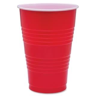 Genuine Joe Plastic Party Cup (Pack of 50)