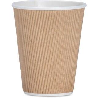 Genuine Joe 12 oz. Ripple Hot Cups (Pack of 500)