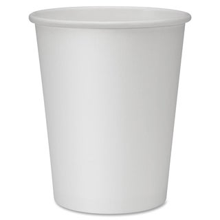 Genuine Joe 8 oz. Polyurethane-lined Disposable Hot Cups (Pack of 50)