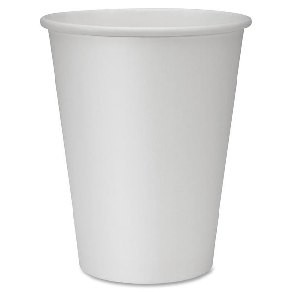 Genuine Joe 12 oz. Polyurethane-lined Disposable Hot Cups (Pack of 1000) 15127925