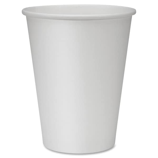 Genuine Joe 12 oz. Polyurethane-lined Disposable Hot Cups (Pack of 50) 15127926