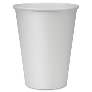 Genuine Joe 12 oz. Polyurethane-lined Disposable Hot Cups (Pack of 50)