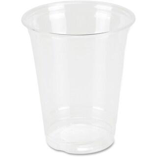 Genuine Joe 12 oz. Clear Plastic Cups (Pack of 25)