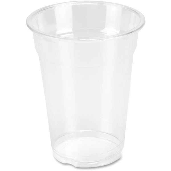 Genuine Joe 10 oz. Clear Plastic Cups (Pack of 25)