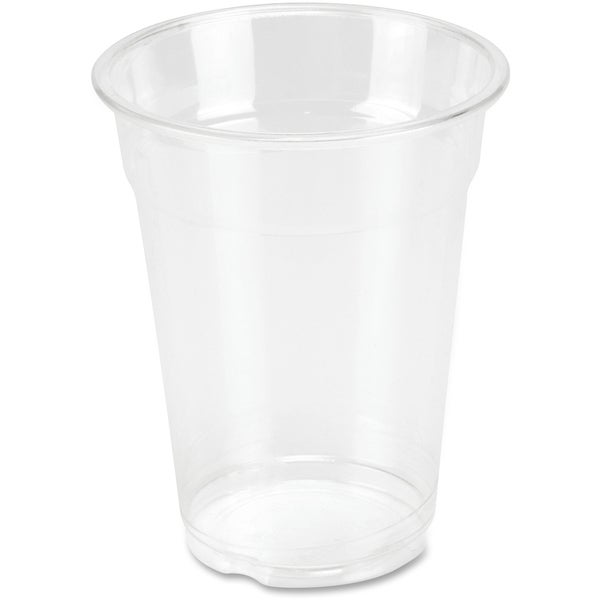 Genuine Joe 10 oz. Clear Plastic Cups (Pack of 25) 15127931