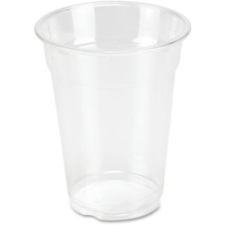 Genuine Joe 10 oz. Clear Plastic Cups (Pack of 25)