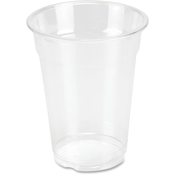 Genuine Joe 9 oz. Clear Plastic Cups (Pack of 50)