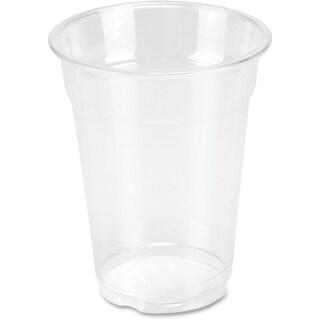 Genuine Joe 9 oz. Clear Plastic Cups (Pack of 50)
