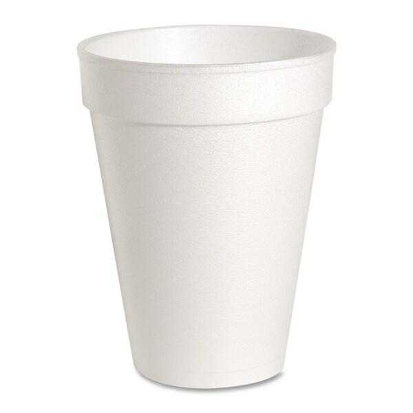 Genuine Joe Foam Cups, 14 oz, 1000/CT, White 15127937