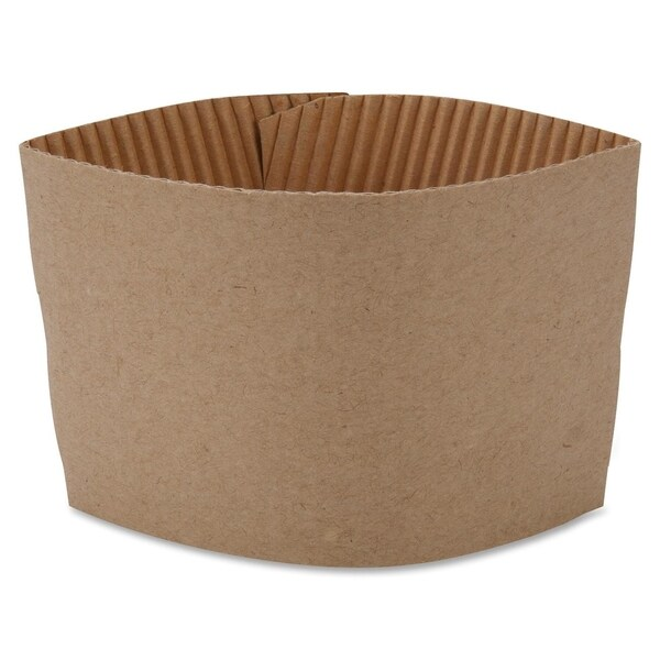 Genuine Joe Protective Corrugated Cup Sleeves (Pack of 50)