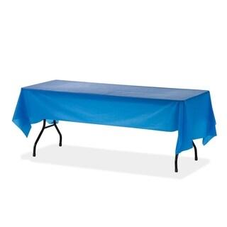Genuine Joe Rectangular Table Cover (Pack of 6)