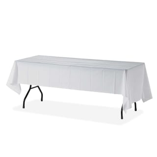Genuine Joe Rectangular Table Cover (Pack of 6)