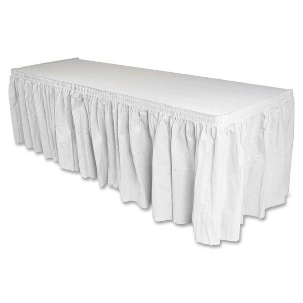 Genuine Joe Linen-like Table Skirts