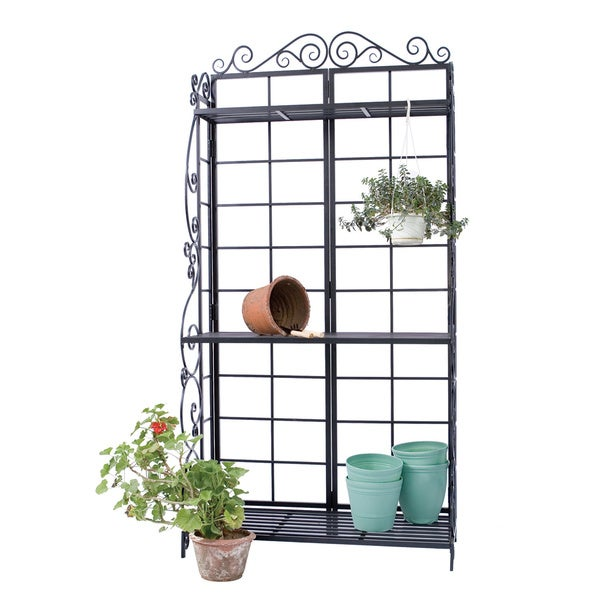 Potting Bench Black