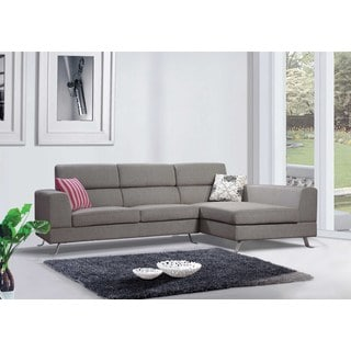 the-Hom Kileen Light Grey Right-facing Chaise