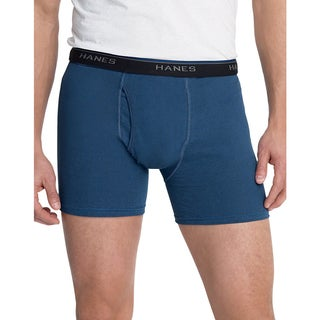 Hanes Men's Tagless ComfortBlend Boxer Brief with Comfort Flex Waistband (Pack of 3)