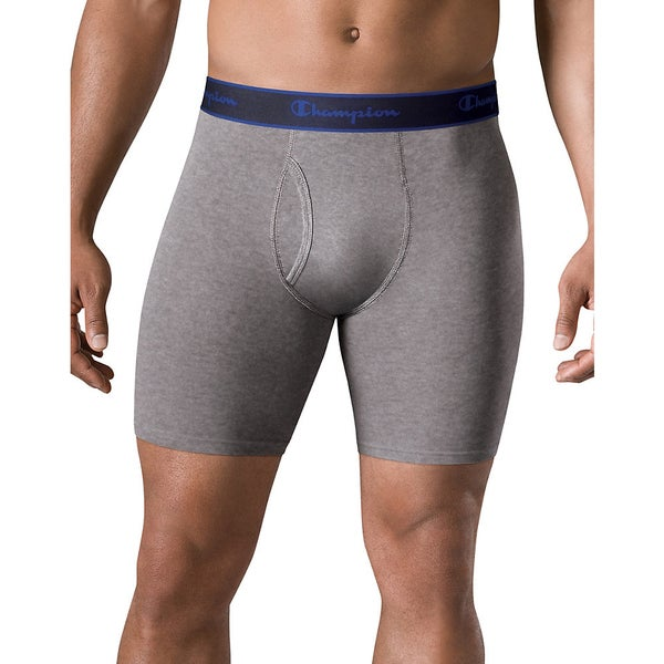 Champion Performance Cotton Long Boxer Brief (Pack of 3) 15128322