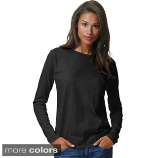 Hanes Women's ComfortSoft Long-Sleeve T-Shirt