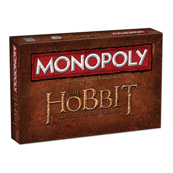 Monopoly The Hobbit Motion Picture Trilogy Edition