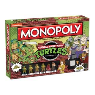 Monopoly Teenage Mutant Ninja Turtles Colletor's Edition