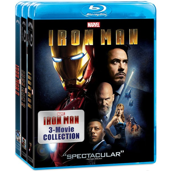 Iron Man 3-Movie Collection (Blu-ray Disc) 15129279