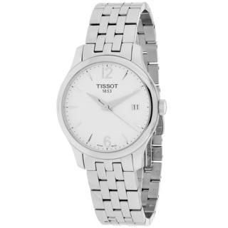 Tissot Women's T0632101103700 Tradition Round Silvertone Bracelet Watch