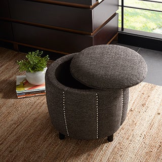 Madison Park Easton Ottoman--3 Color Options
