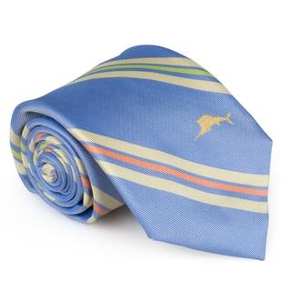 Tommy Bahama Men's Handmade Printed Silk Tie