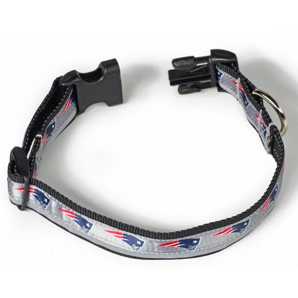 Petflect New England Patriots Reflective Collar