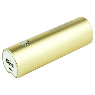 Powermax Quick Charge Powerpack Gold 2,800mAh Portable External Battery Charger
