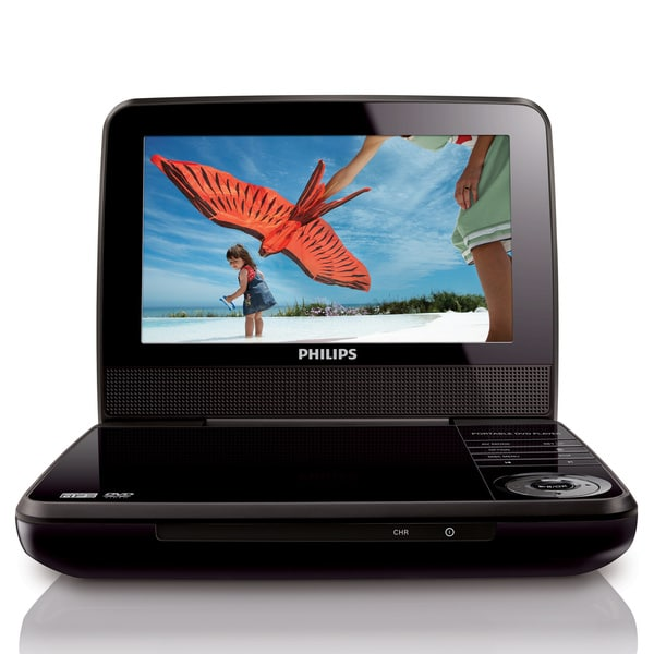 Philips PET741B 7-inch Portable DVD Player (Refurbished)