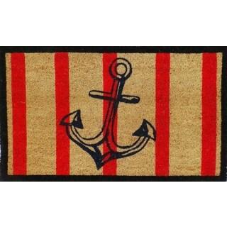 Anchor Stripe Doormat