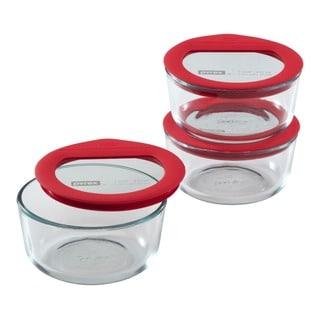 Pyrex Premium Glass Lid 6-pc Value Pack