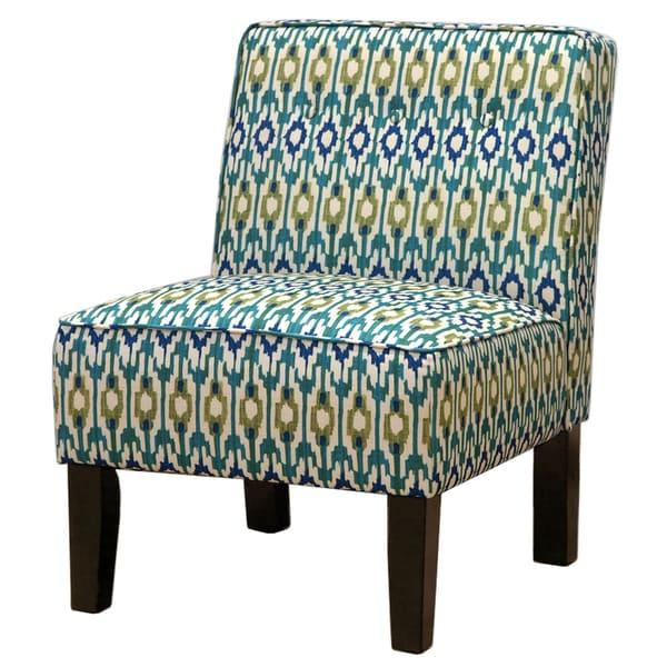 Aspara Aegean Ikat Accent Chair