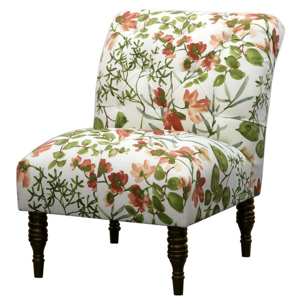 Multi Color Ikat Tufted Accent Chair 17166634 Overstock Shopping Great Deals On Living