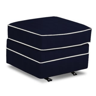 Made to Order Frances Gliding Ottoman with out Skirt