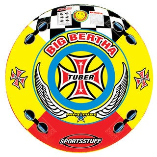 Airhead Big Bertha Towable Quadruple Rider Water Tube