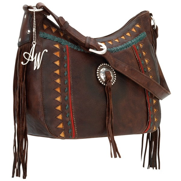 American West Tribal Trade 4450608 Hobo Handbag