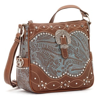 American West Annies Secret 8107789 Concealed Carry Crossbody Bag