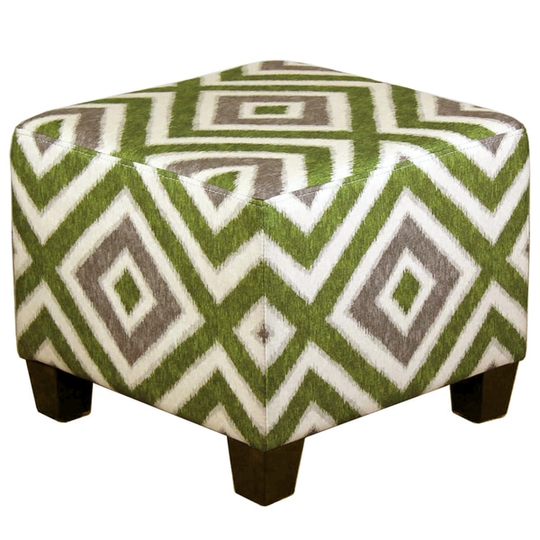 Registan Diamond Sapling Pattern Ottoman
