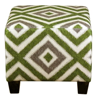 Diamond Pattern Ottoman