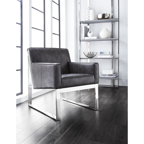 Sunpan Sheldon Leather Armchair