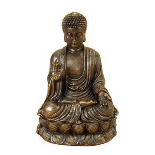 Polystone Buddha Sculpture
